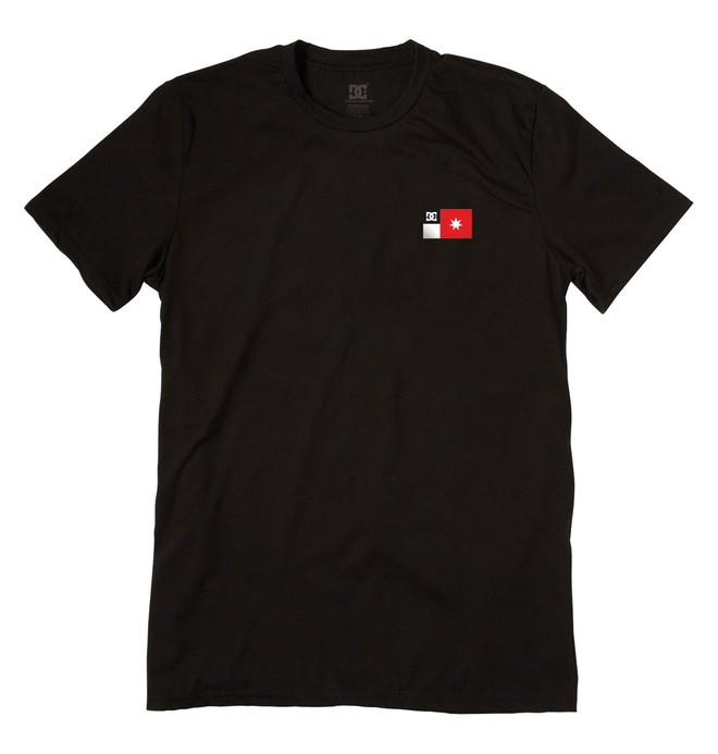 0 Men's Core Flag Tee  51200584 DC Shoes