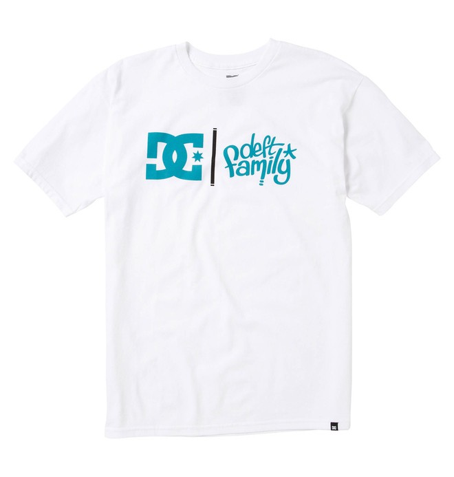 0 Men's DC X Deft Family Collab Tee  51200620 DC Shoes