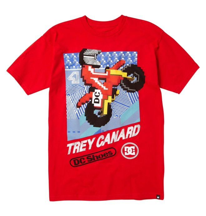 0 TC RIDER TEE  51200624 DC Shoes