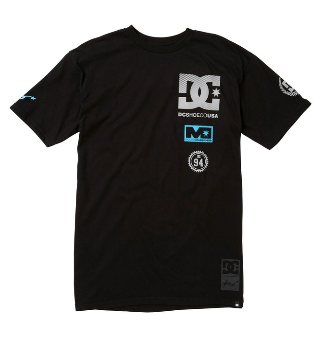 0 Men's Robbie Maddison Logos Tee  51200637 DC Shoes