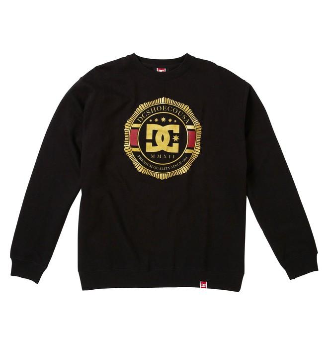 0 Men's Rob Dyrdek Lux Crest Crewneck Sweatshirt  51250012 DC Shoes