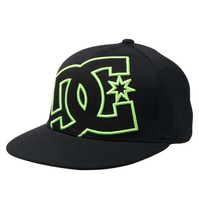 0 Men's Ya Heard 210 Flex Fit Hat  51300103 DC Shoes