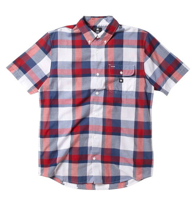 0 Men's Riot Short Sleeve Shirt  51820079 DC Shoes