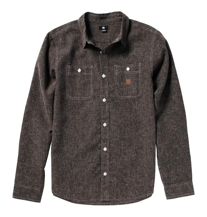 0 Men's Pistol Whip Long Sleeve Shirt  51820087 DC Shoes
