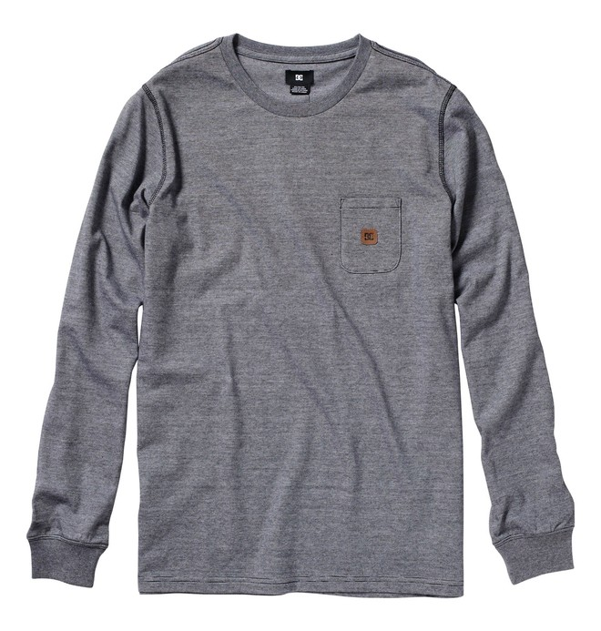 0 Men's Assistant Manager Long Sleeve Tee  51830118 DC Shoes