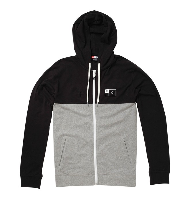 0 Men's Principle Zip Hoodie  51830124 DC Shoes