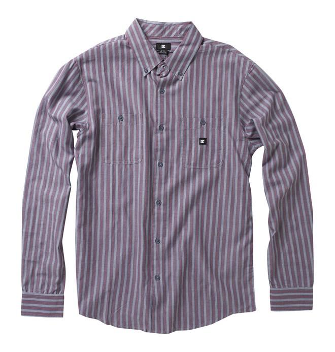 0 Men's Flacks Long Sleeve Shirt  52820012 DC Shoes