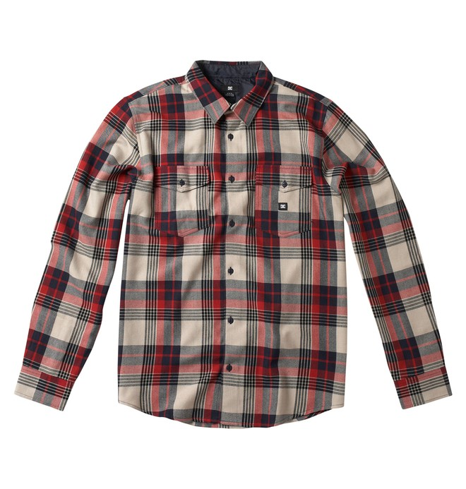 0 Men's Hackleman Long Sleeve Shirt  53820084 DC Shoes