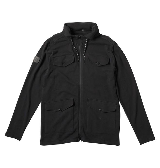 0 Men's Engine Hooded Fleece Jacket  53860121 DC Shoes