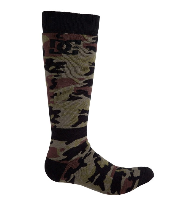 0 Men's Apache Snowboard Socks  54390022 DC Shoes