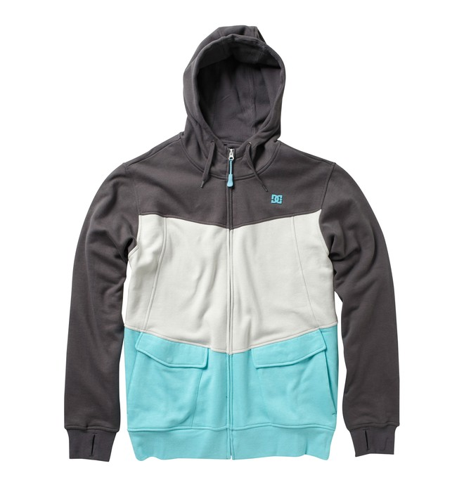 0 Men's Kupress Zip Hoodie  54860032 DC Shoes