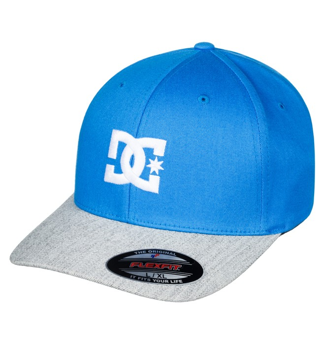 0 Men's Cap Star 2 Flexfit Hat Blue 55300096 DC Shoes