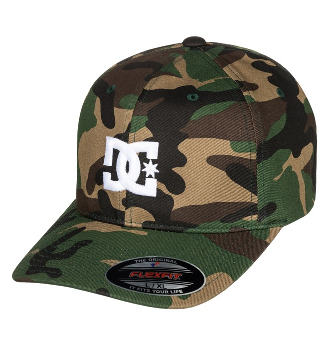 0 Cap Star 2 - Gorra Flexfit para Hombre Verde 55300096 DC Shoes