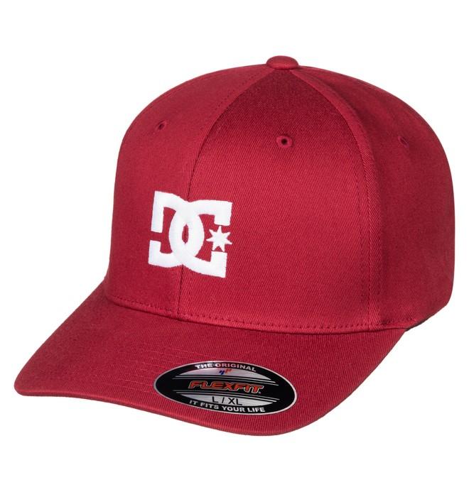 0 Men's Cap Star 2 Flexfit Hat Red 55300096 DC Shoes