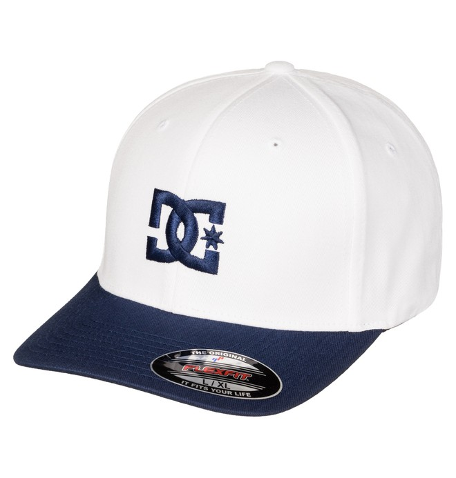 0 Cap Star 2 - Flexfit Cap Weiss 55300096 DC Shoes