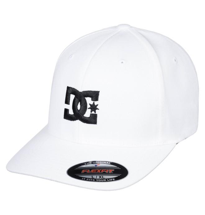 0 Cap Star 2 Flexfit Hat White 55300096 DC Shoes