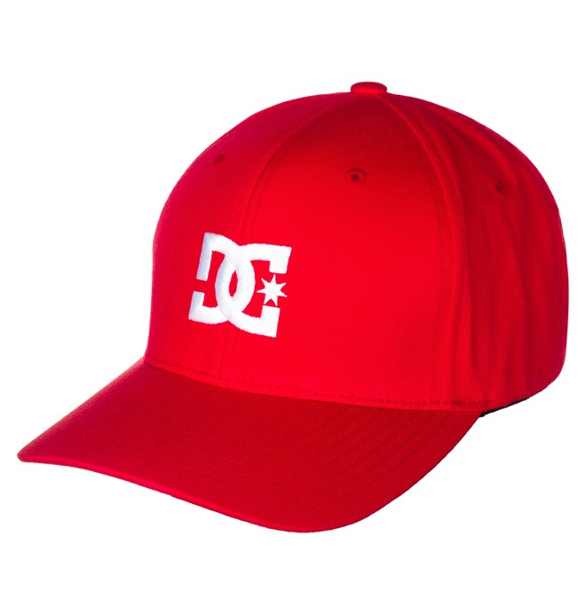 0 Gorra Flexifit Cap Star 2 Rojo 55300096 DC Shoes