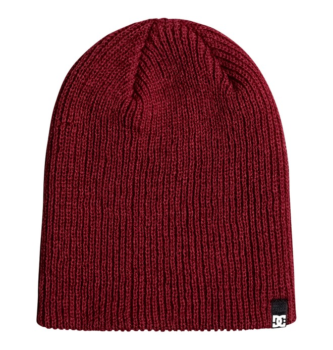 0 Clap - Beanie Red 55310017 DC Shoes