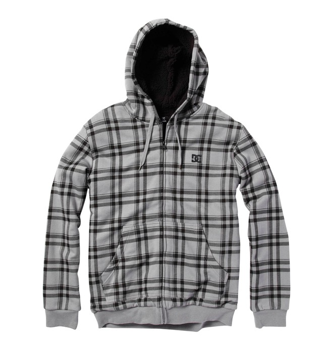 0 Men's T-Star Shearling Printed Hoodie  55860091 DC Shoes