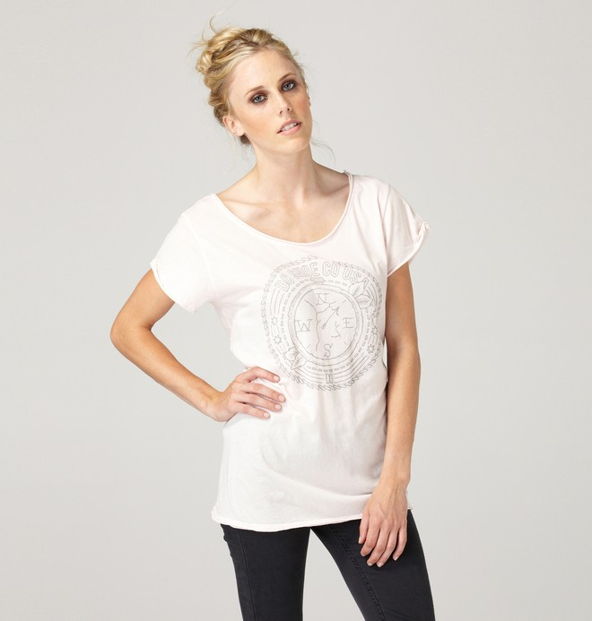 0 Women's Compass Shirt  61200230 DC Shoes