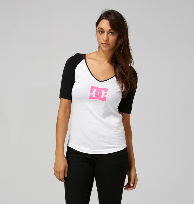 0 Women's T-Star Raglan  61220003 DC Shoes