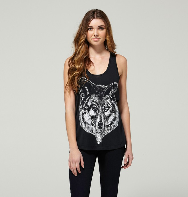 0 Women's Brant Tank Top  63430077 DC Shoes