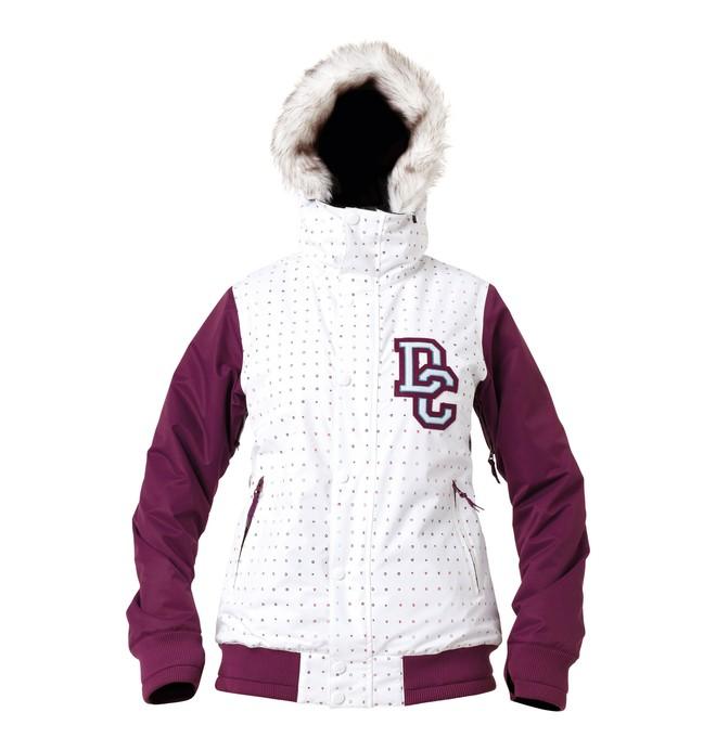 0 Women's Squad Snowboard Jacket  64641117 DC Shoes