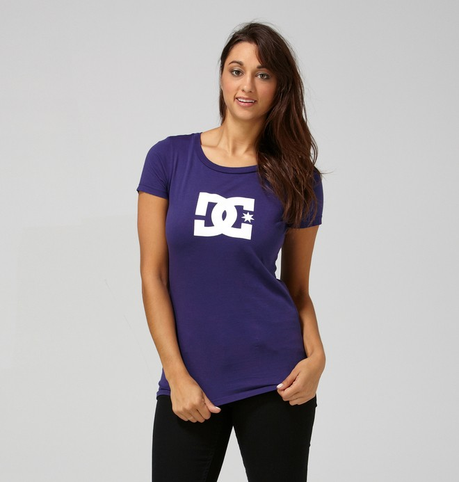 0 Women's T-Star Tee  65200143 DC Shoes