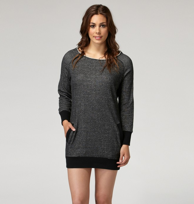 0 Women's Marley Fleece Dress  65490031 DC Shoes