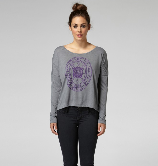 0 Women's Sorrow Longsleeve Tee  66210037 DC Shoes