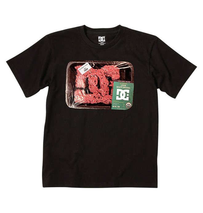 0 Boy's Lean Meat Tee  71200172 DC Shoes