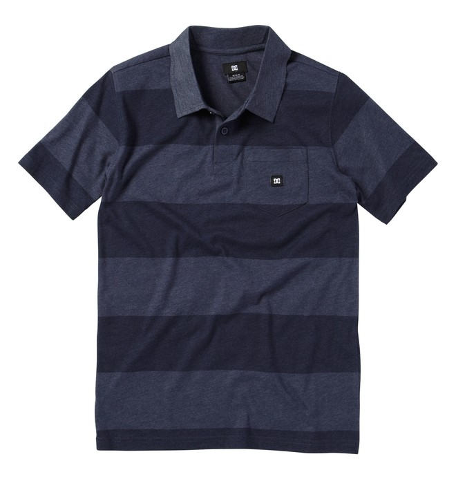 0 Boy's Chomper Polo Shirt  73830103 DC Shoes