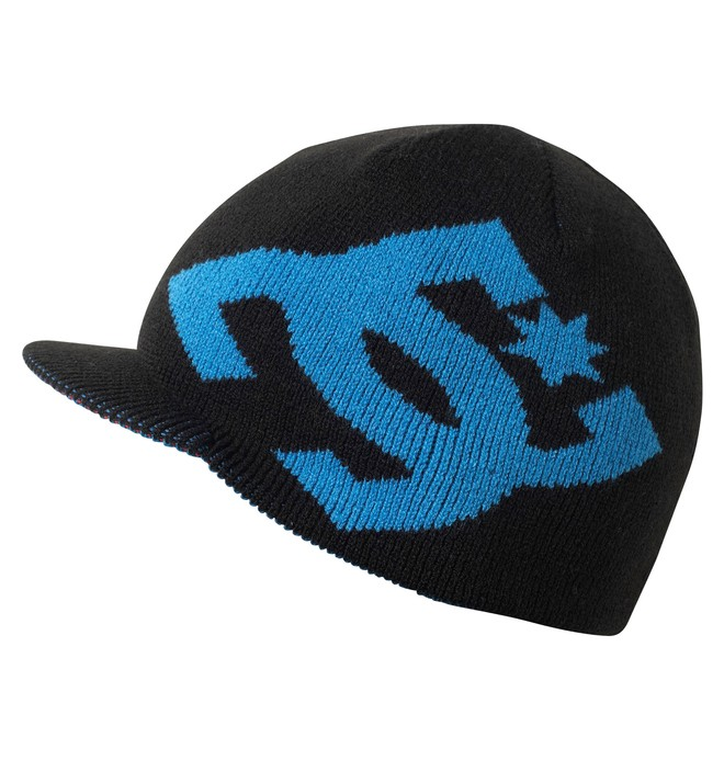 0 Boy's Cascata Reversible Visor Beanie  74310041 DC Shoes