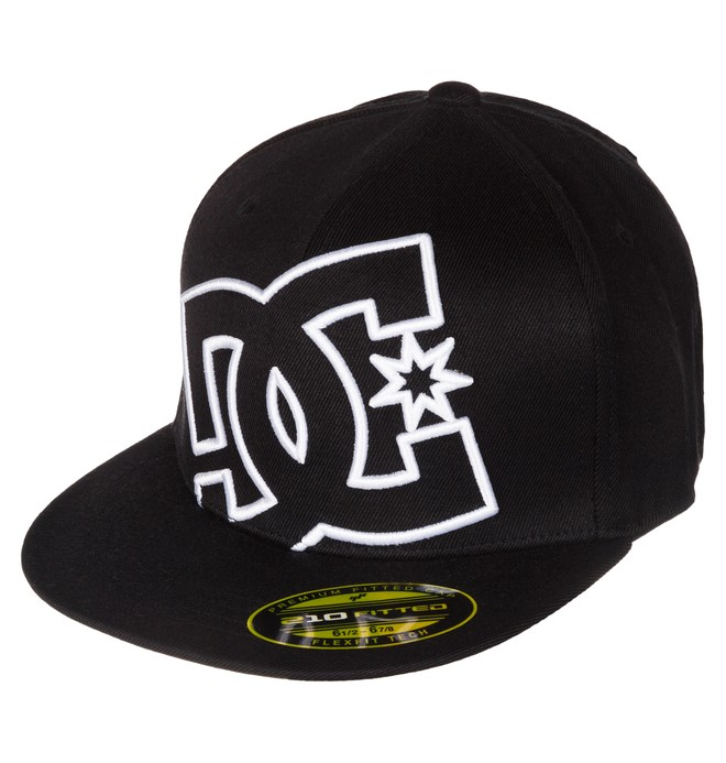 0 Ya Heard - Flexfit Cap Schwarz 75300013 DC Shoes