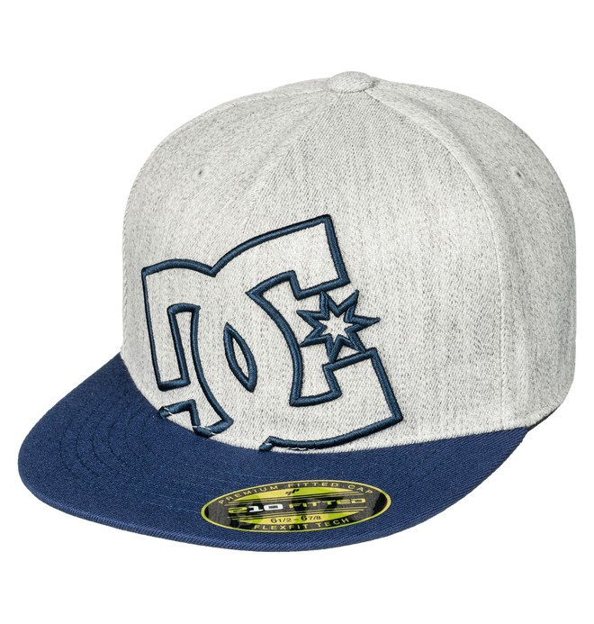 0 Ya Heard - Flexfit Cap Blue 75300013 DC Shoes