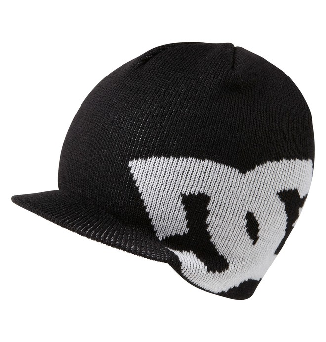 0 Boys Big Star Visor Beanie  75310005 DC Shoes