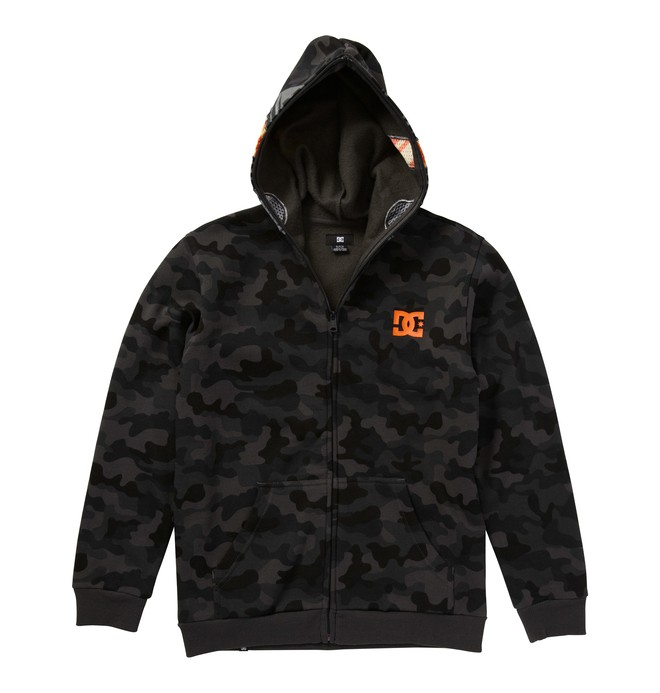 0 Boy's Angry Guy Hoodie  ADBFT00057 DC Shoes