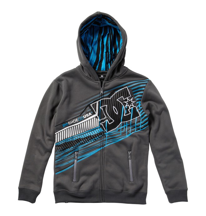 0 Boy's Whisky Throttle Fleece  ADBFT00074 DC Shoes