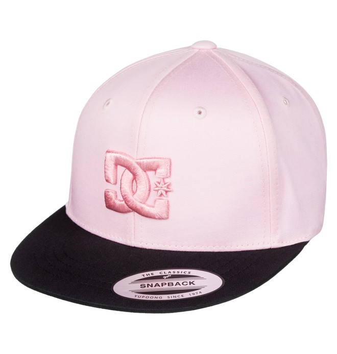 0 Snappy - Casquette snapback Rose ADBHA00008 DC Shoes