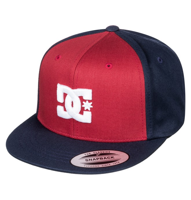 0 Snappy - Snapback Cap Red ADBHA00008 DC Shoes
