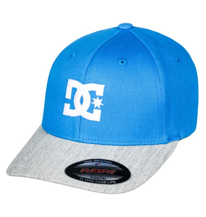 0 Boys 8-16 Cap Star 2 Gorra Flexifit Azul ADBHA03026 DC Shoes