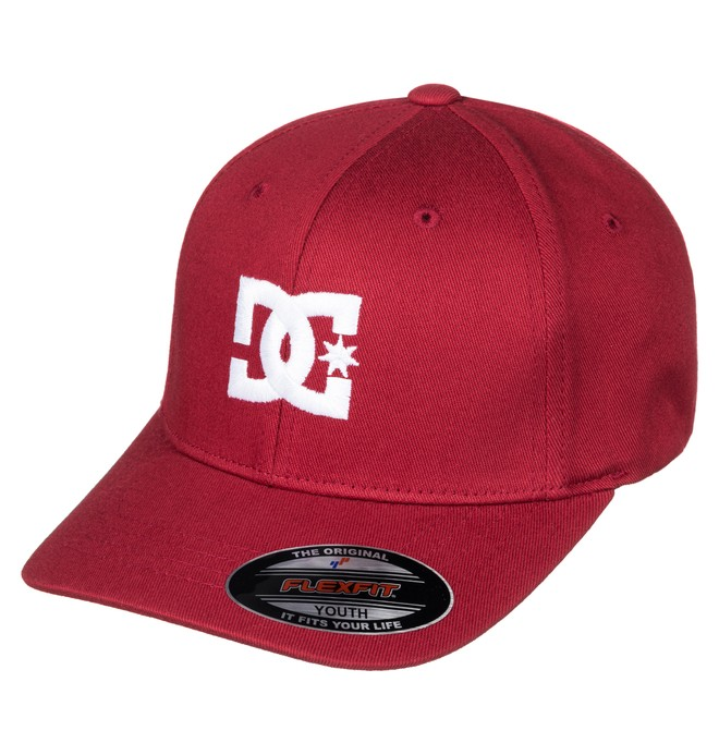 0 Cap Star 2 - Flexfit Hat Red ADBHA03026 DC Shoes