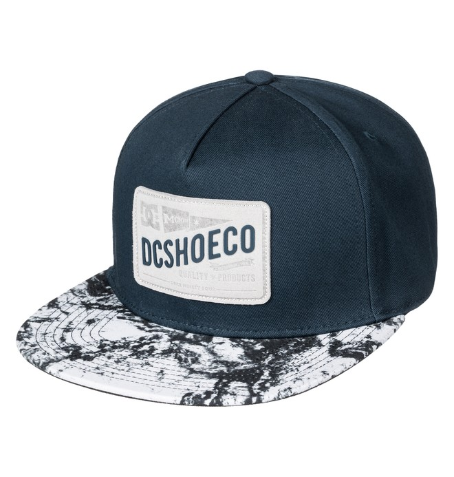 0 Leatherstan - Snapback Cap  ADBHA03052 DC Shoes