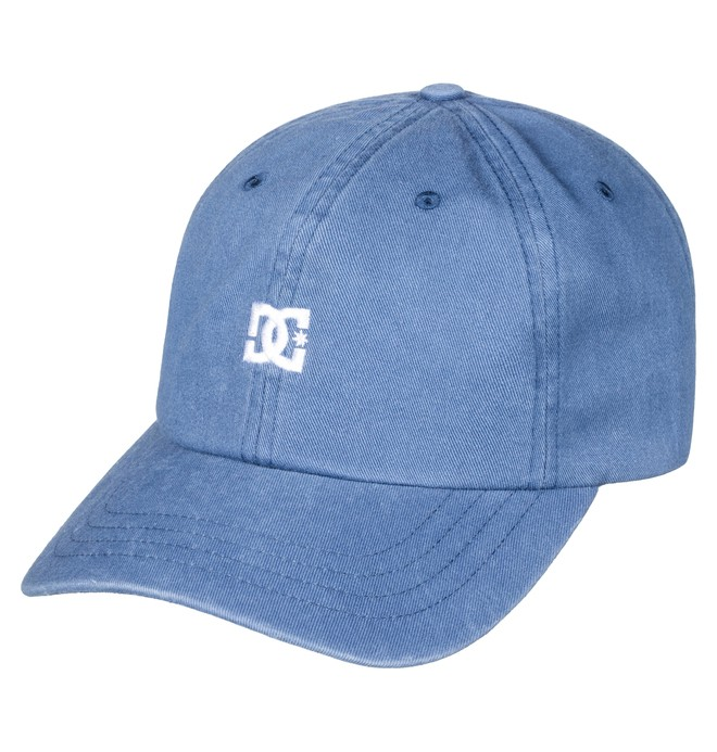 0 Boy's 8-16 Uncle Fred Dad Hat Blue ADBHA03061 DC Shoes