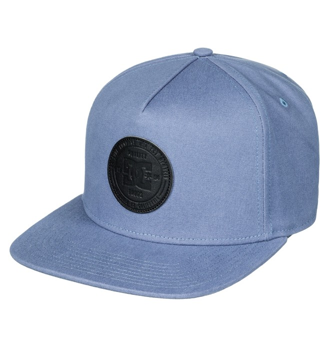 0 Boy's 8-16 Proceeder Snapback Hat Blue ADBHA03063 DC Shoes