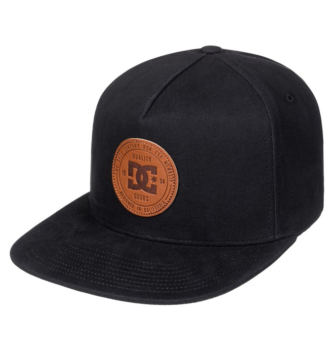 0 Proceeder - Snapback Cap Black ADBHA03063 DC Shoes