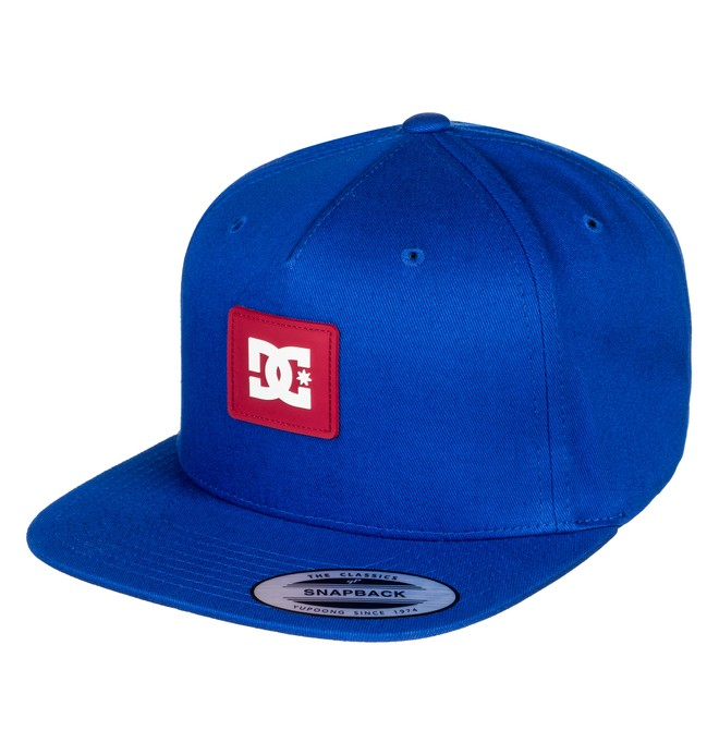 0 Boy's 8-16 Snapdoodle Snapback Hat Blue ADBHA03070 DC Shoes