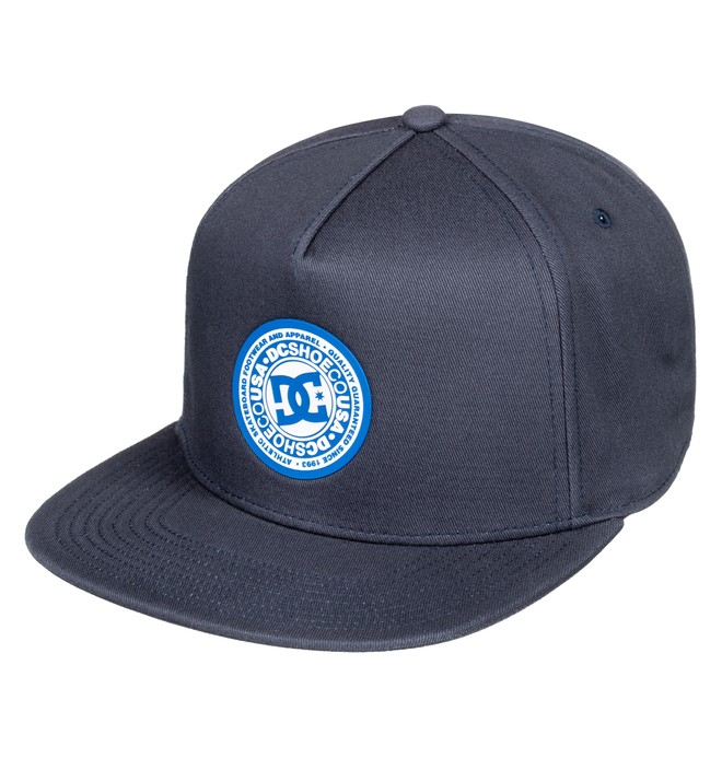 0 Boy's 8-16 Reynotts Snapback Hat Blue ADBHA03093 DC Shoes