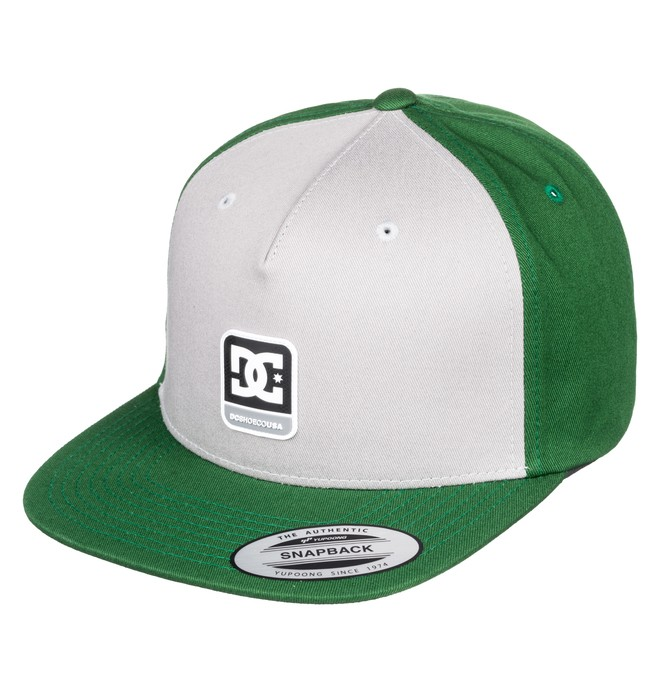 0 Boy's 8-16 Snapdragger Snapback Hat Green ADBHA03094 DC Shoes