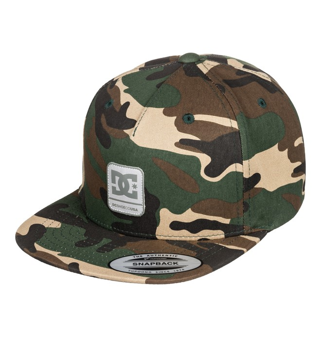 0 Boy's 8-16 Snapdragger Snapback Hat Black ADBHA03094 DC Shoes